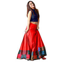 Ladies Red Ladies Silk Lehenga Choli