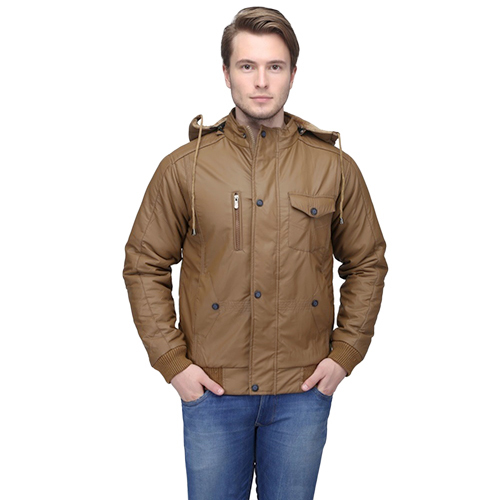 Mens Brown Riding Jacket