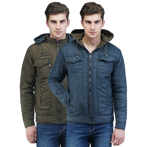 Mens Casual Reversible Jackets