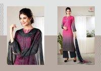 Bandhej Art Silk Suit