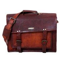 Leather Messenger Sling Bag