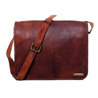 Goat Leather Messenger Bag