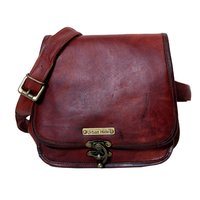 Mens Leather Sling Bags