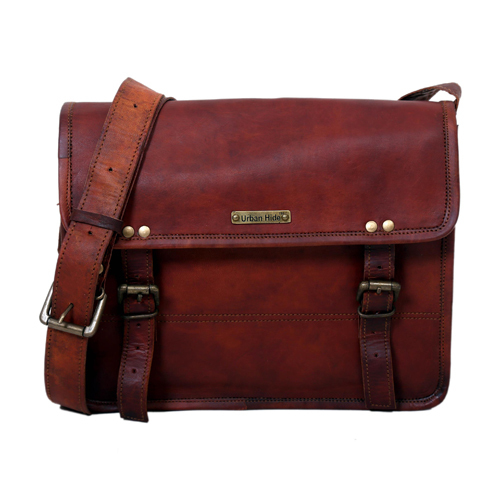Brown Leather Sling Bag