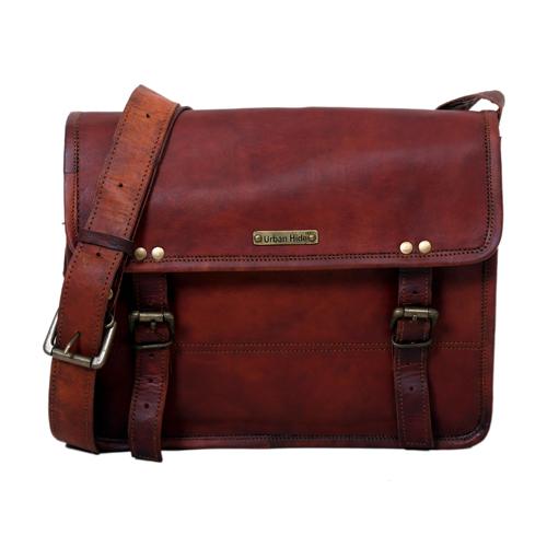 Brown Leather Sling Bag