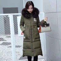 Ladies Long Winter Jacket