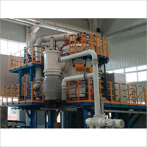 Vertical Twin Chamber Vacuum Gas Cooling Oil Quenching Furnace
