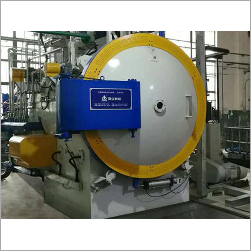 Horizontal Twin Chamber Vacuum High Pressure Gas Quenching Furnace