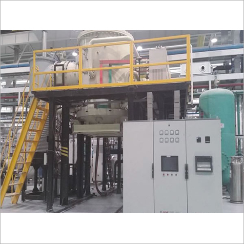 Vertical Bottom Loading Vacuum Brazing Furnace