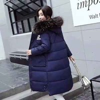 Ladies Blue Color Winter Jacket