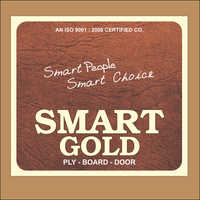 Smart Gold Stiker Plywood