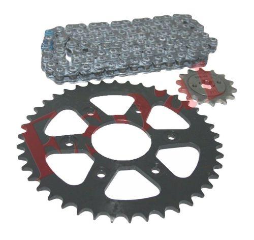 New Chain & Sprocket Kit 6 Hole 8mm for KTM Duke 200 MotorcyclesNew Chain & Sprocket Kit 6 Hole 8mm for KTM Duke 200 Motorcycles