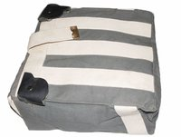 Side Hanging Canvas Bag Set Light Military Green BSA M20 21 Ariel Norton Triumph