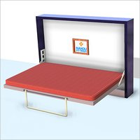 Double Horizontal wall bed mechanism with regular Leg