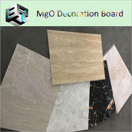 UV Laminated Magnesium Oxide Board