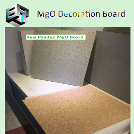 Real Printed MgO Board