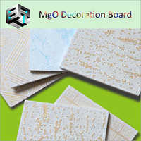 Mgo Decoration Board