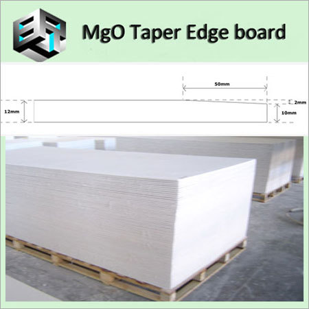 MgO Board Tapered Edge