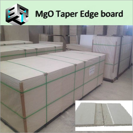 MgO Fireproof Tapered Edge Board