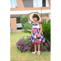 Baby Rose Print Frock