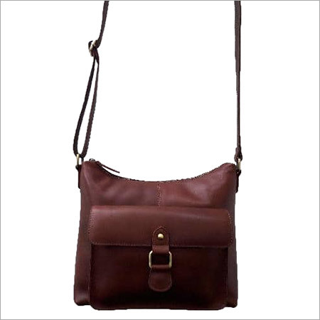 Branded Leather Handbag