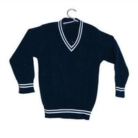 V Neck Full Sleeves School Sweater