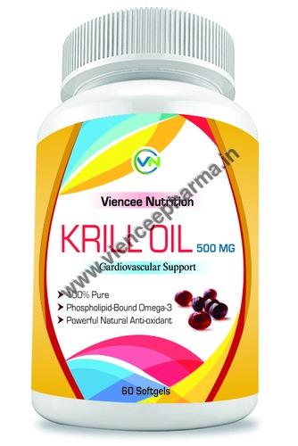 Krill Oil Softgels