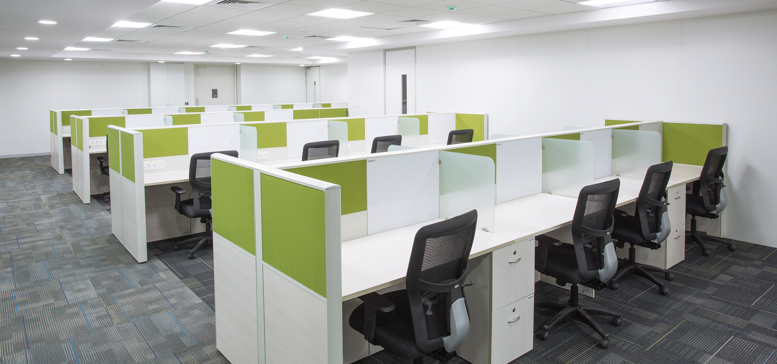 Office work station and cubicles
