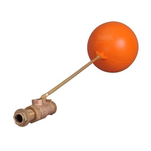 volt brass ball float valve with plastic ball