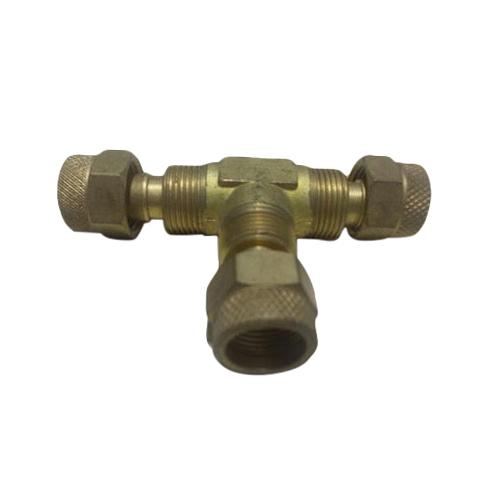 Brass Union Tee