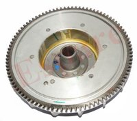 Vespa Flywheel Magneto Rotor Lusso Self Start With Gear PX LML Star Stella