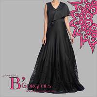 Black Fancy Gown