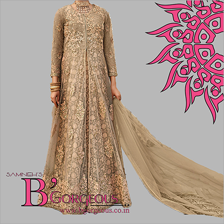 Heavy Embroidered Gown