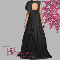 Black Fancy Gown