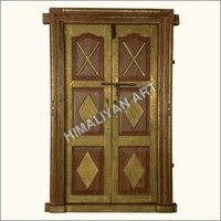 BRASS FITTED DOORS