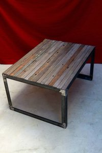 Coffee Table With Lasr Cutting Designs