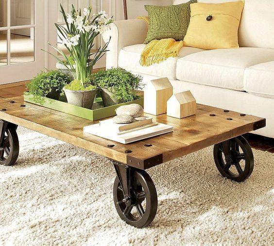 Coffee Table Cart
