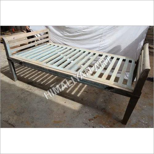 Polished WOODEN BED