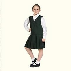 Girls School Black Tunic