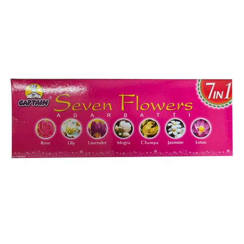 Seven Flowers Incense Sticks