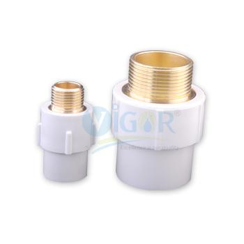 UPVC Brass MTA (SCH 80)