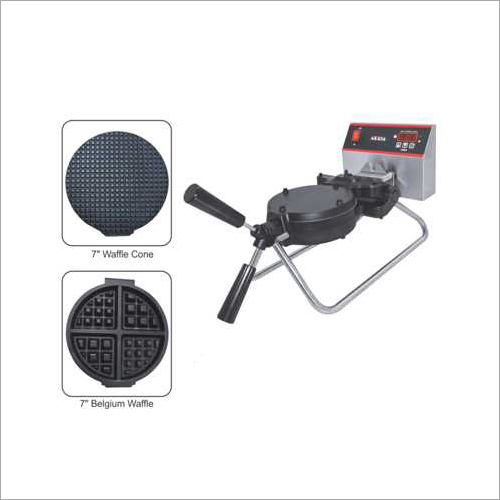Rotary Waffle Machines With Changeable Plates