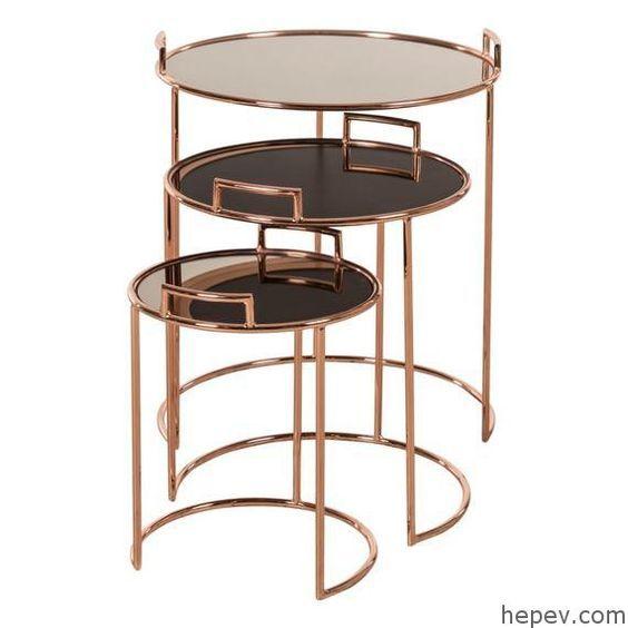 Jali Nesting Tables