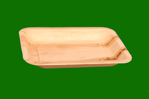 Areca Nut Round Deep Plate