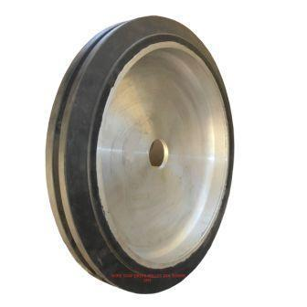 Wire saw drive pulley