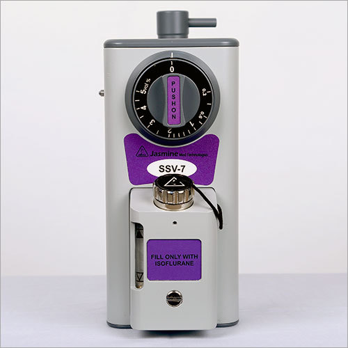 High Performance Isoflurane Vaporizer