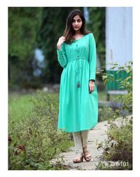 Simple Party Wear Kurta