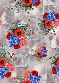 Fancy Digital Print fabric