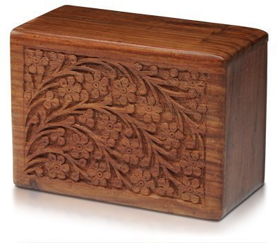 Wood Adult Cremation Urn