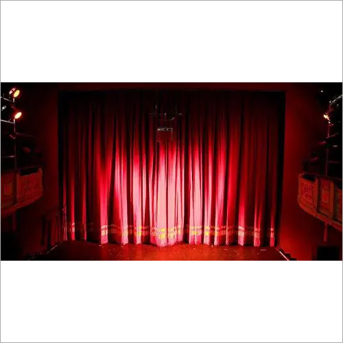 Stage Curtain Installation